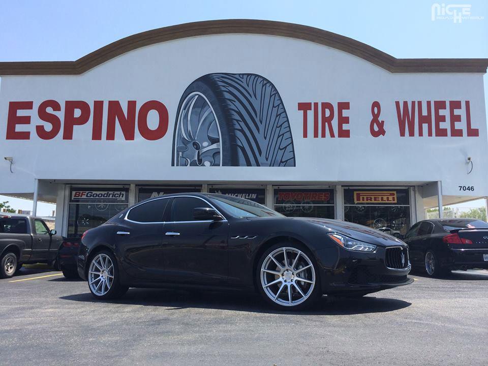 Car Maserati Ghibli On Niche Sport Series Essen M146 Wheels